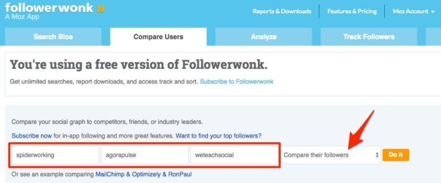 followerwonk compare users