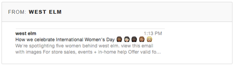 example email subject line with emojis
